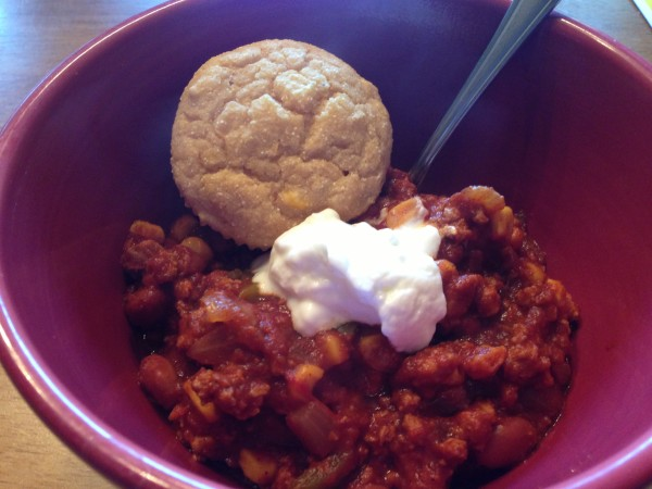 Chili & Corn Bread