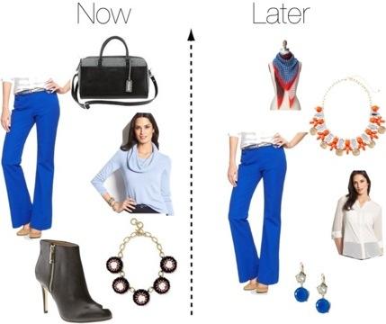 Wear Now, Wear Later: Petite Career Girl