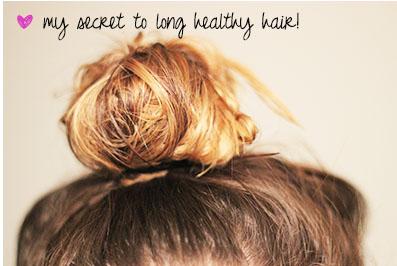 My Secret to Long Healthy Hair