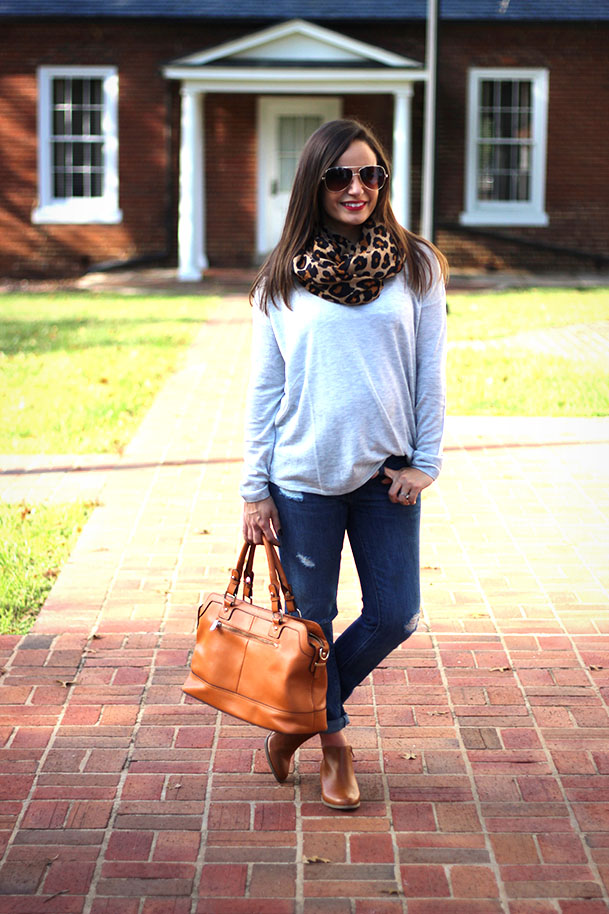 Leopard and Boyfriend Jeans, Booties - Pumps and Push Ups