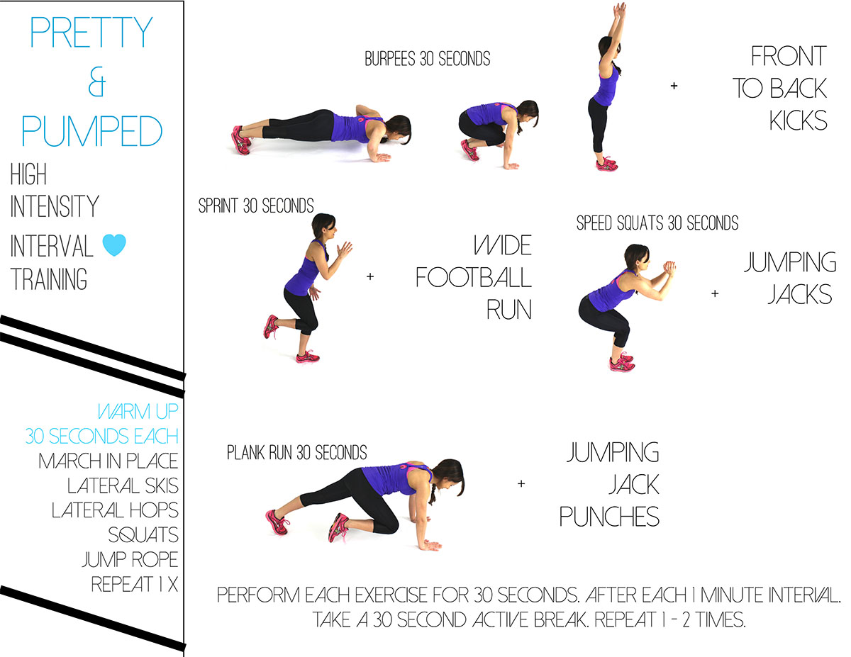HIIT Training - Pumps and Push Ups