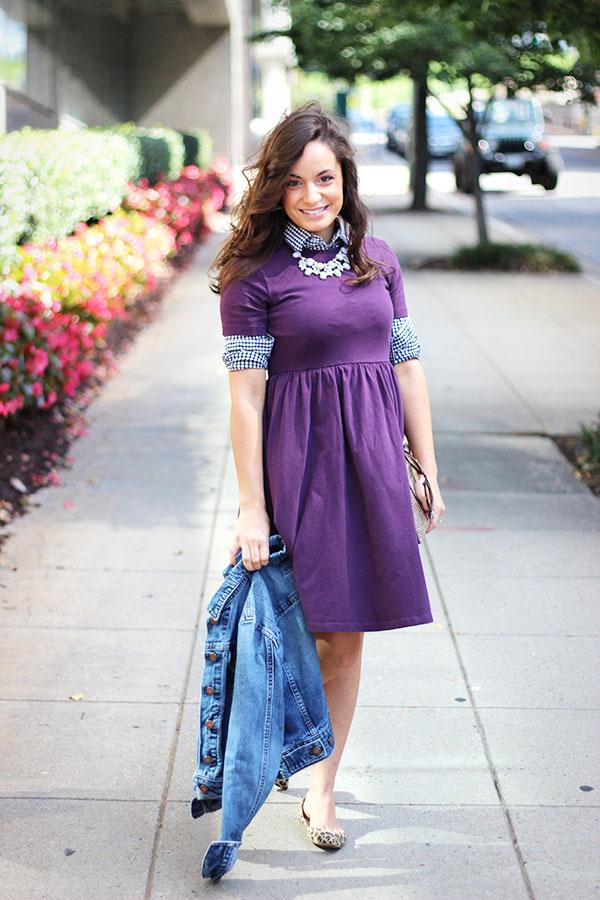 Style a Skater Dress