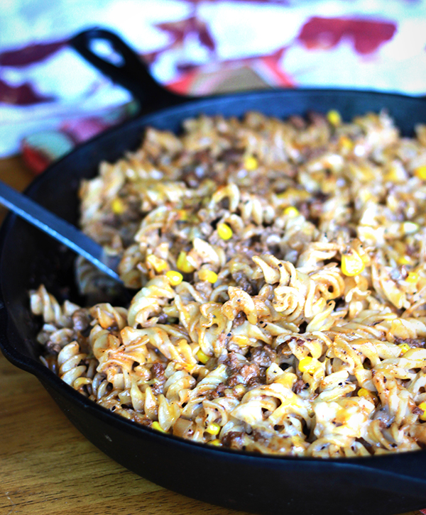 Beef, Cheese and Noodle Bake - Pumps and Push-Ups