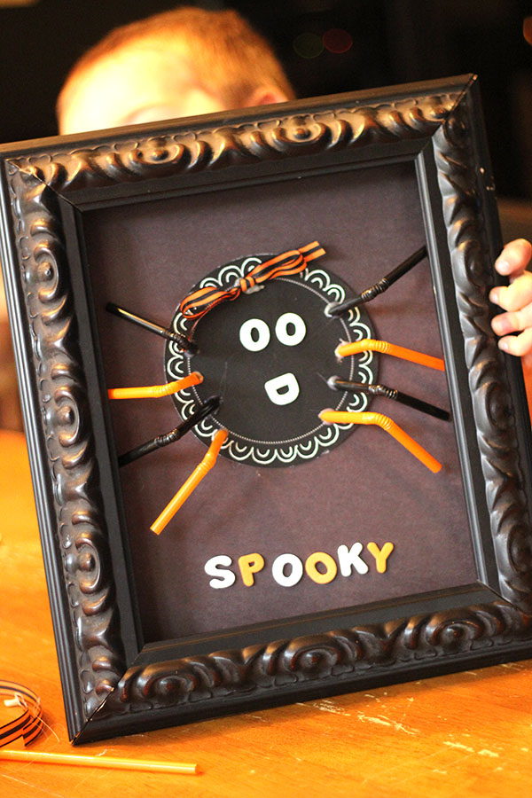 Spooky Spider - Fall Toddler Craft
