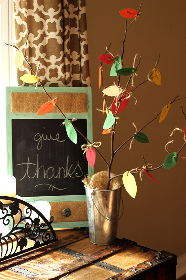 Thanksgiving Craft: Thankful Tree