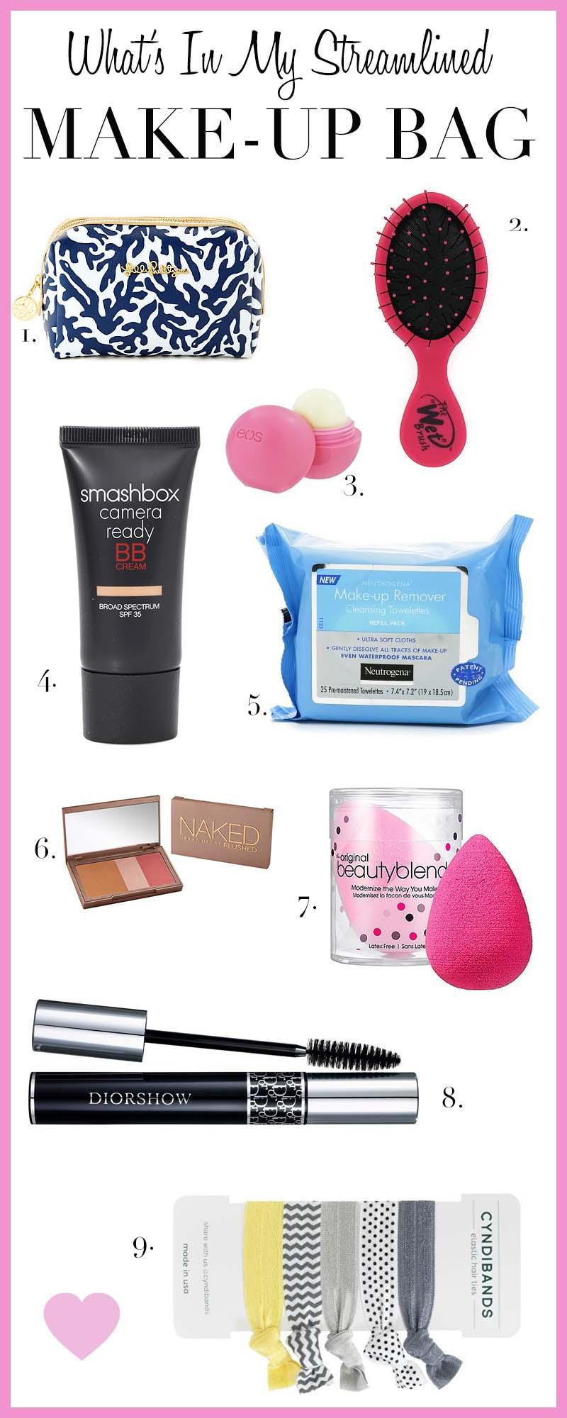 Streamlined Make-Up Bag