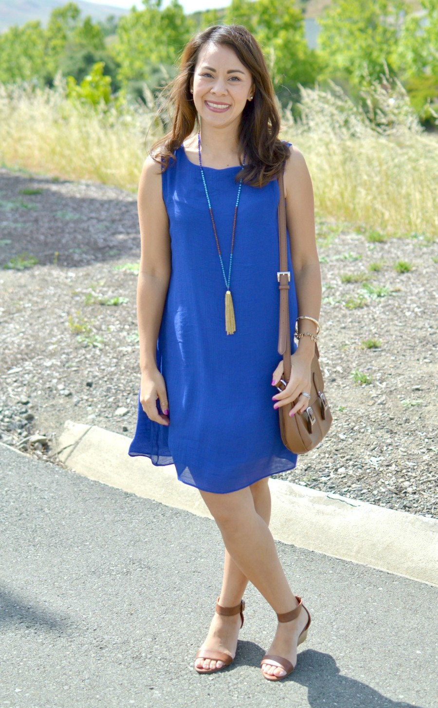 BLUE DRESS CASUAL 1