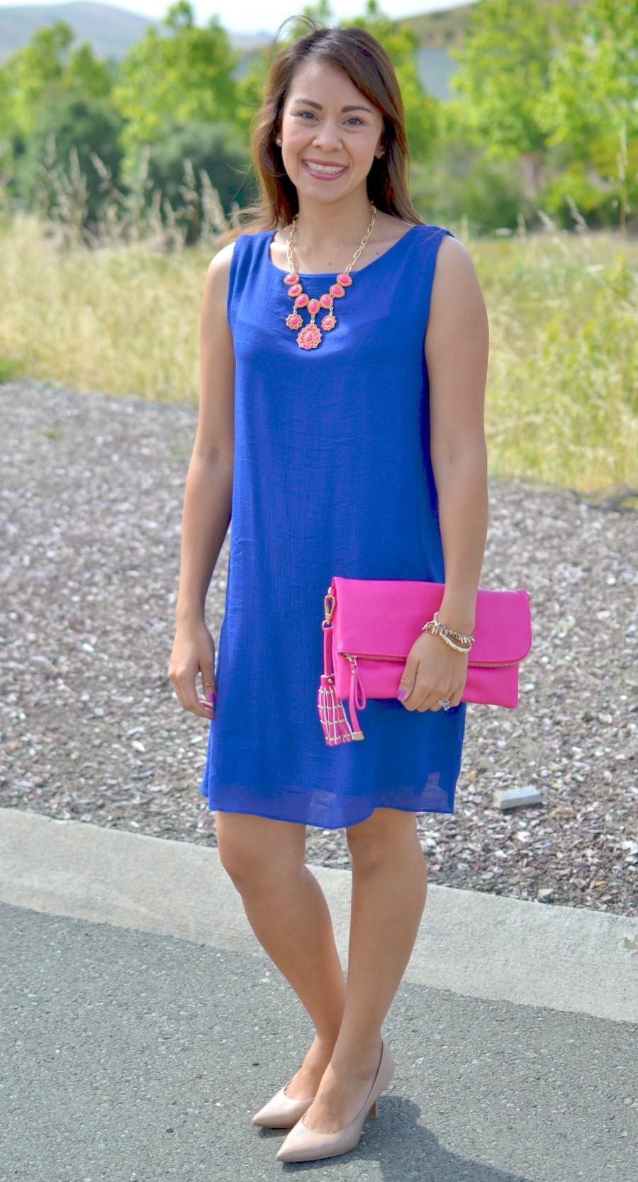 BLUE DRESS DRESSY 2