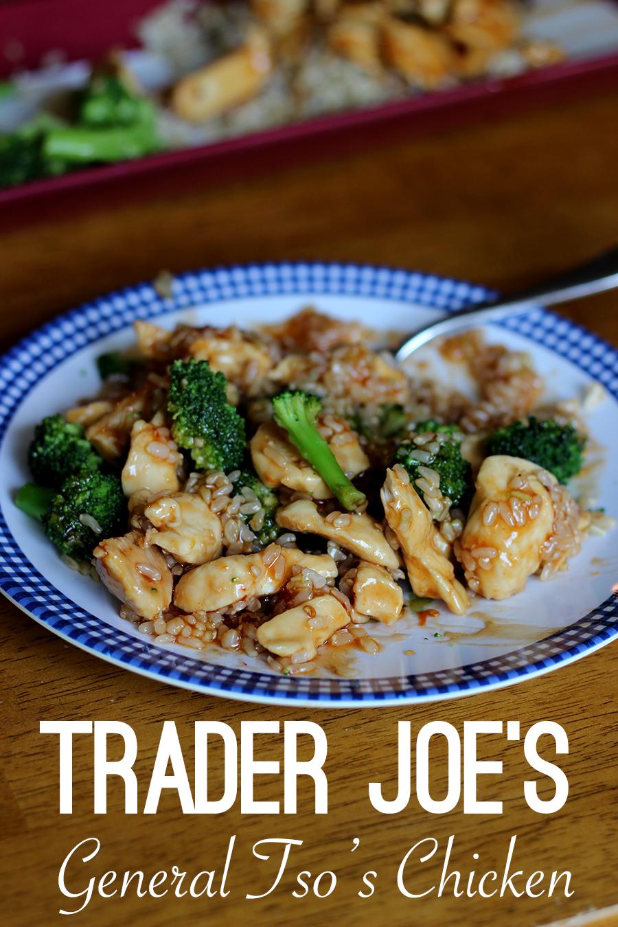 Trader Joes General Tso Chicken