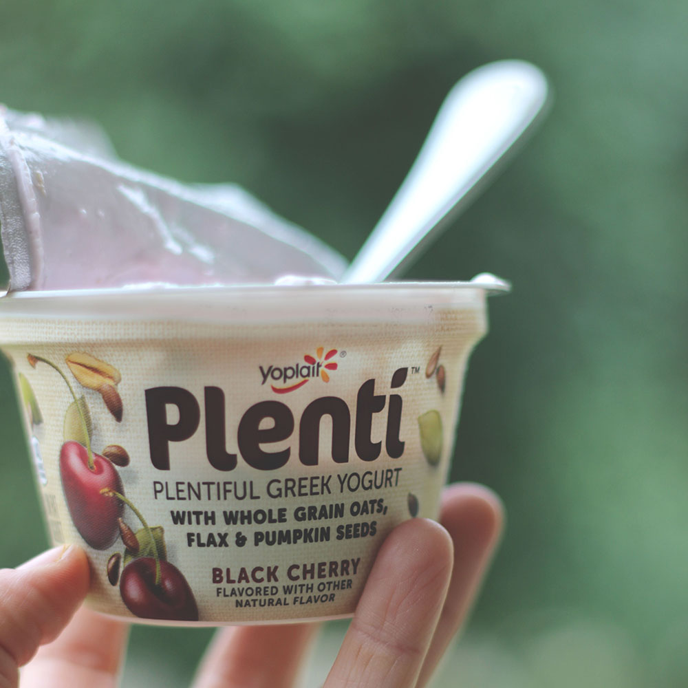 Yoplait Plenti Yogurt | tips for powering through the afternoon slump | Pumps and Push-Ups