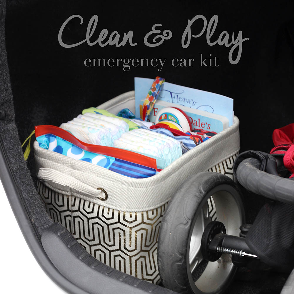 #HuggiesForHolidays | Clean & Play Car Kit