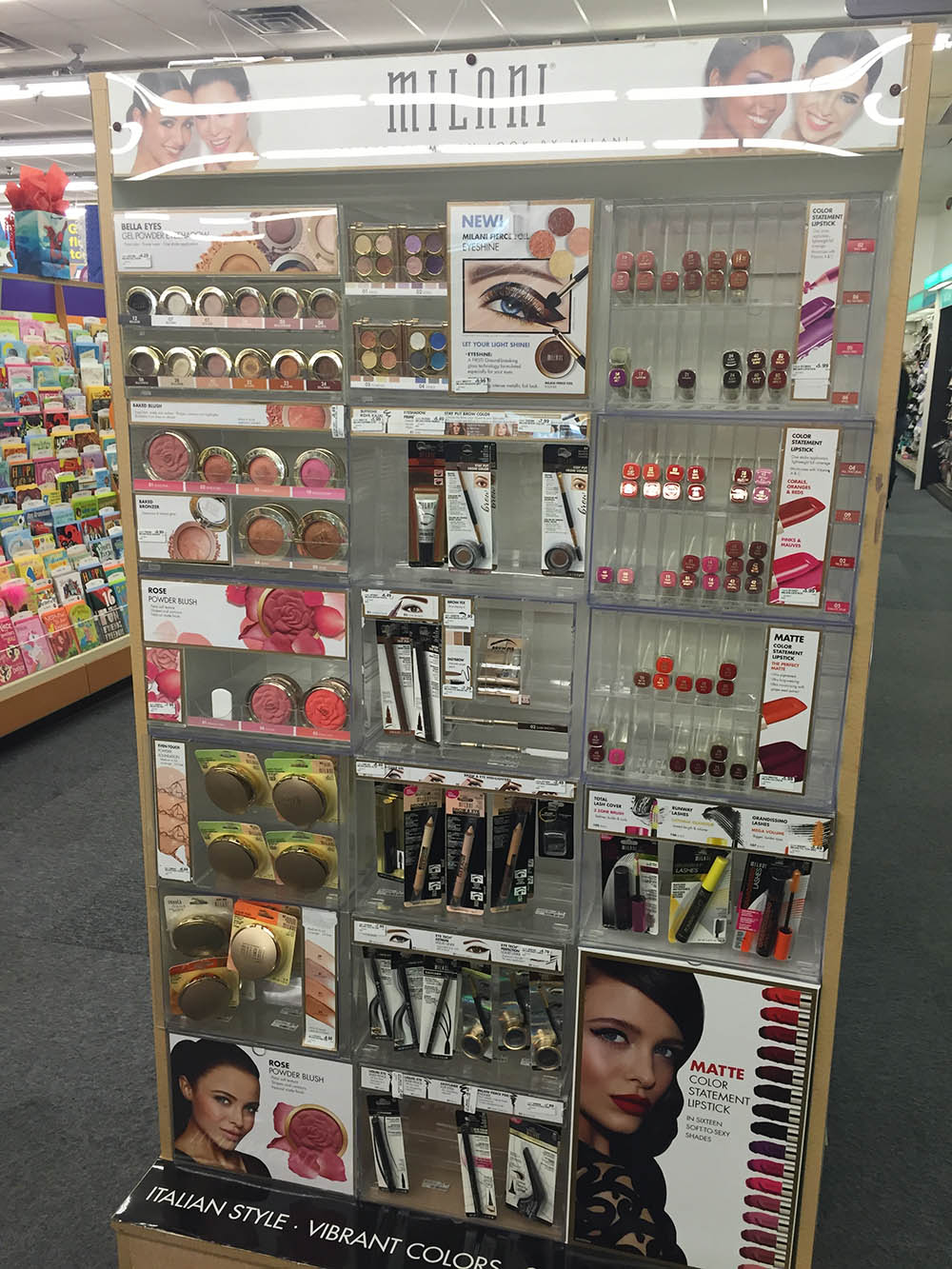Milani Cosmetics at CVS