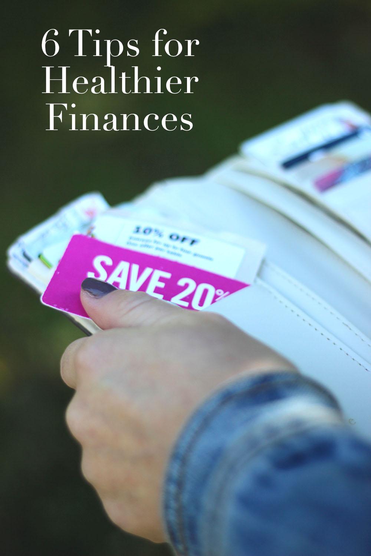 savings tips | healthier finances | 6 tips for healthier finances