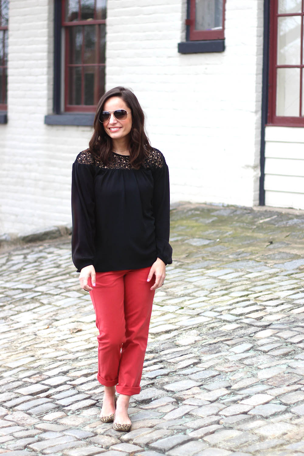 coral crops outfit