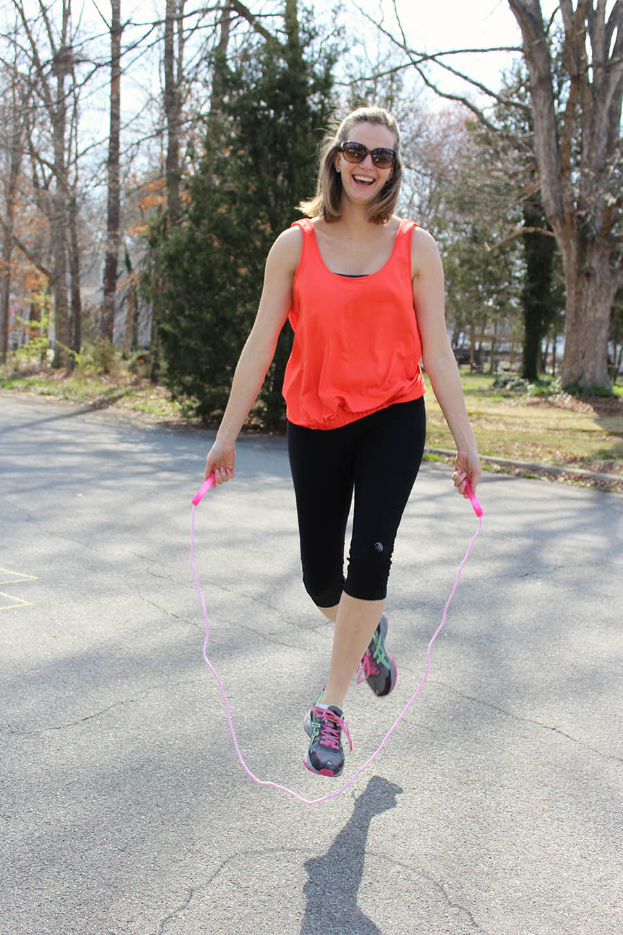 Jump Rope for a fun workout