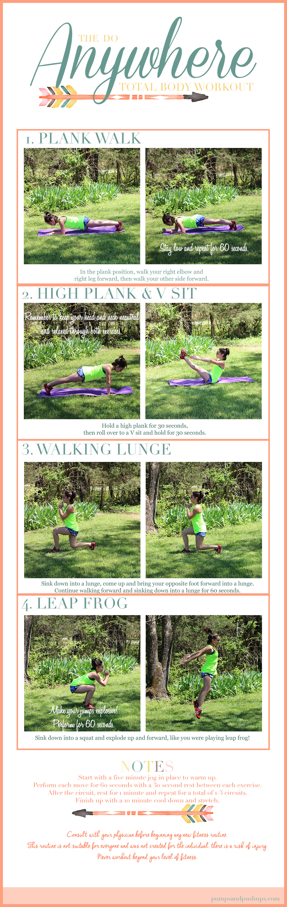 The Do Anywhere Workout   Pumps & Push-Ups