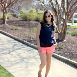 Bring on the shorts -- spring to summer transition outfits