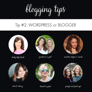 Blogging Tips: which platform do you use?