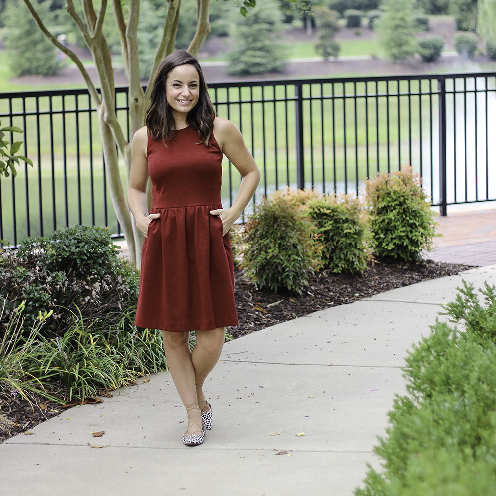 How To Dress For Fall In Summer Temps & Oh, Hey Girl! Link-Up