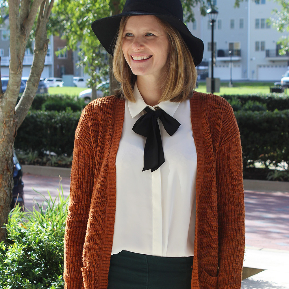 The Tie-Neck Blouse & Link-Up