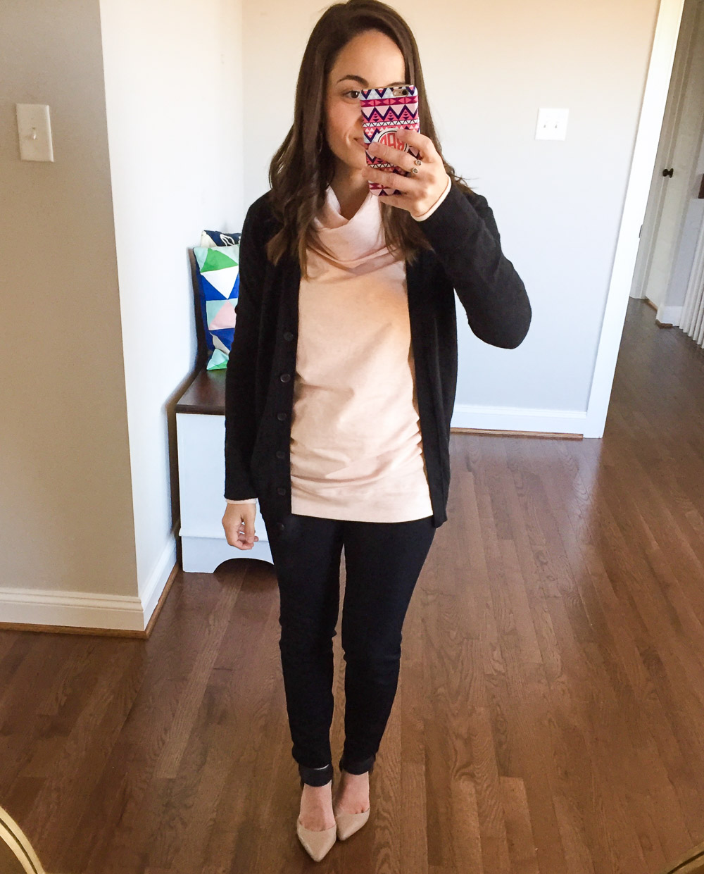 The Boyfriend Cardigan: J. Crew Factory vs. Target – Pumps & Push Ups