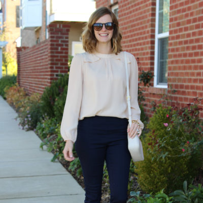 My New Frill Top From Octer & Link-Up