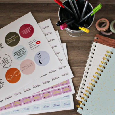 Getting Organized For 2017 With Stickerapp