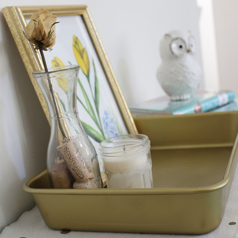 Project Less Waste: DIY Baking Pan Upcyle