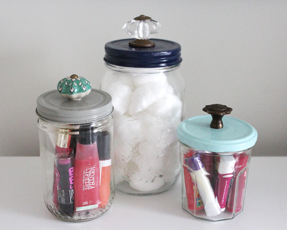 project less waste diy decorative jars - Decorative Jars