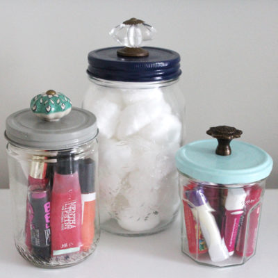 Project Less Waste: DIY Decorative Jars