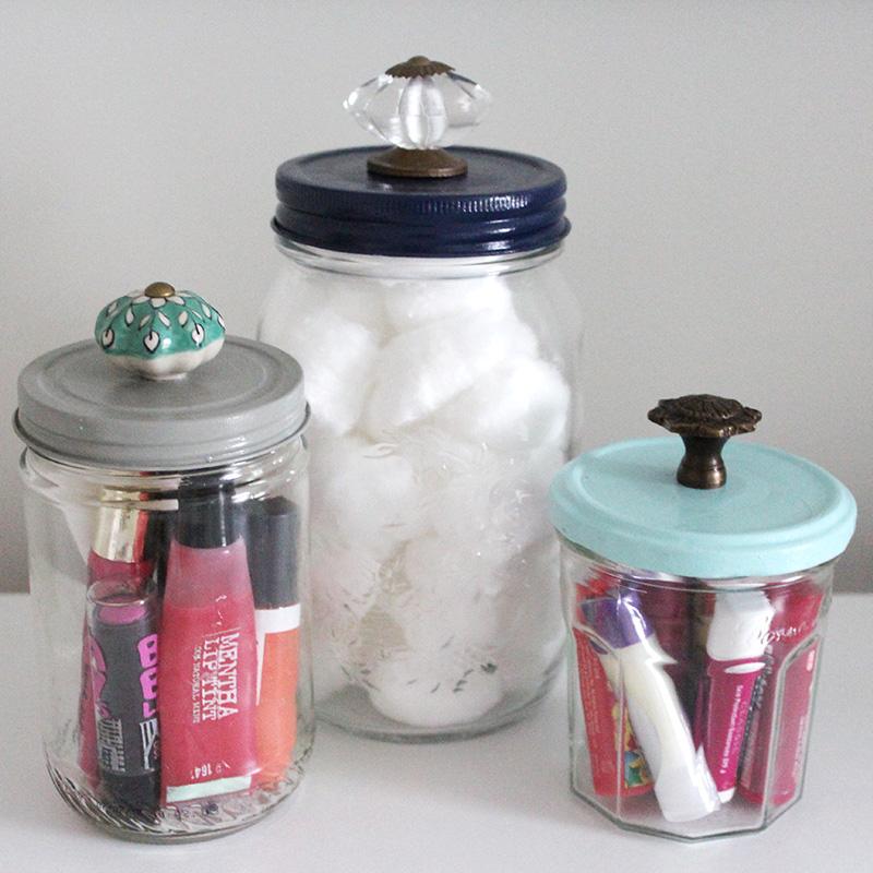 Project Less Waste: DIY Decorative Jars