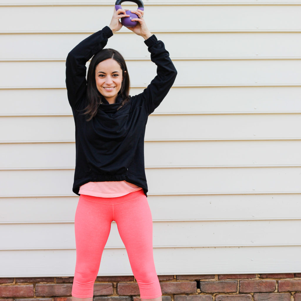 Kettlebell Arms & Oh, Hey Girl! Link-Up!