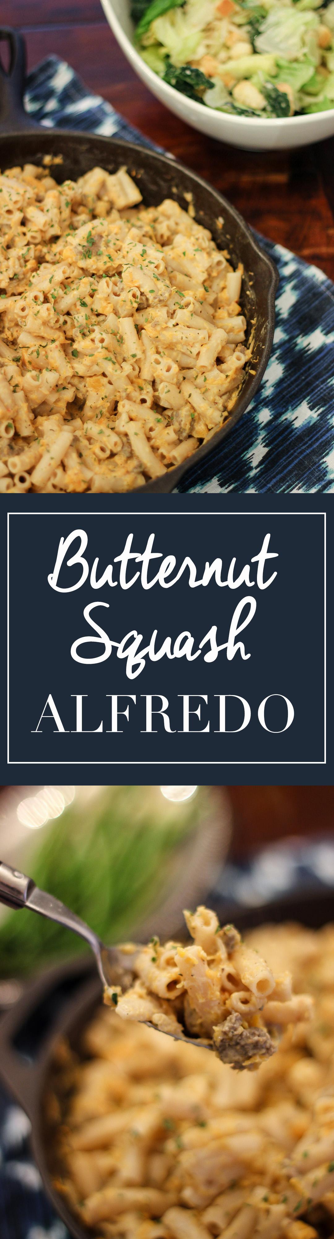 Butternut Squash Alfredo