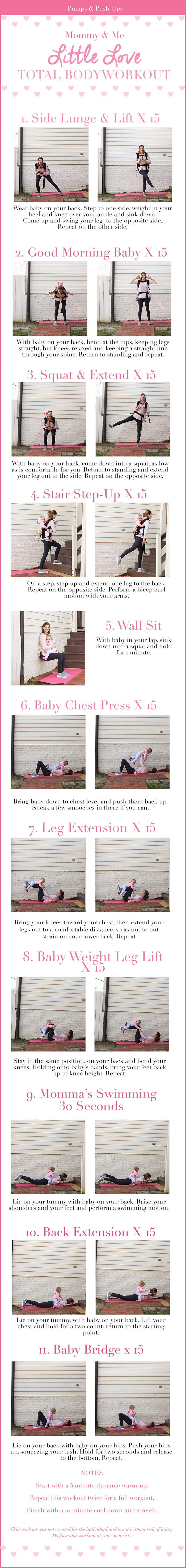 Mommy and Me Total Body Workout