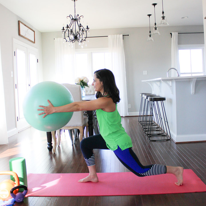 Stability Ball Babe | Lower Body Workout & Giveaway!