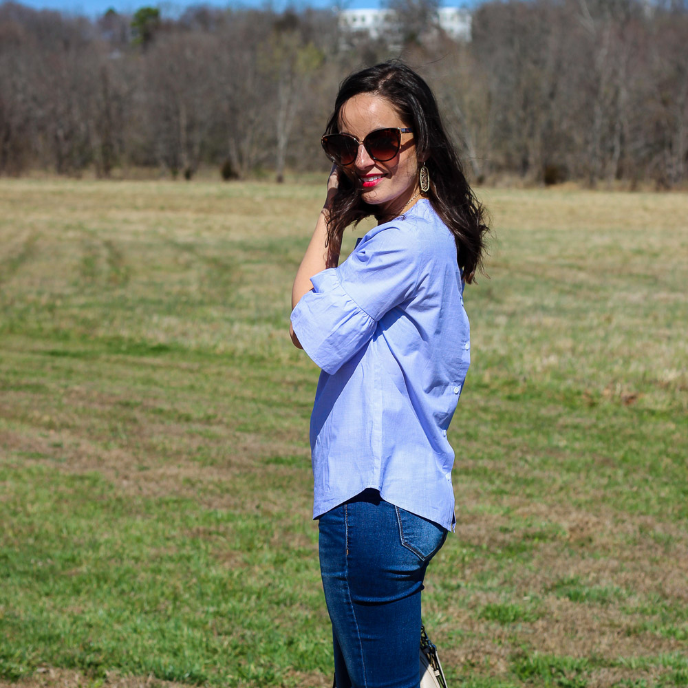 Bell Sleeves & Oh, Hey Girl! Link-Up