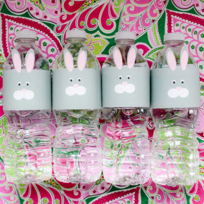 Bunny Bottle Wraps with Nestle Pure Life Water #PureLife40Pk