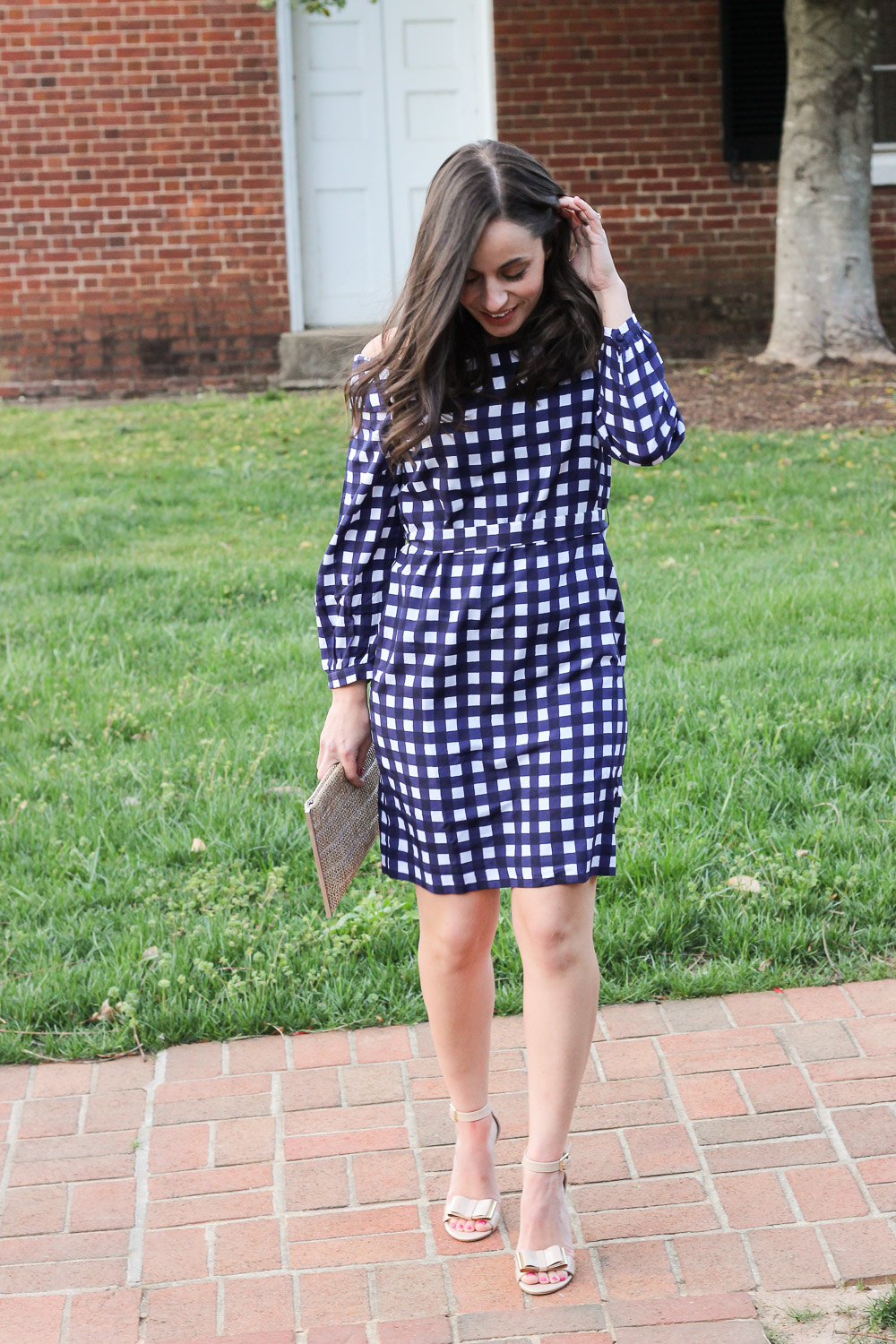 Banana Republic Gingham Dress