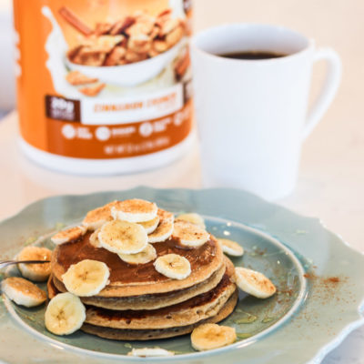 Quest Cinnamon Crunch Protein Pancakes