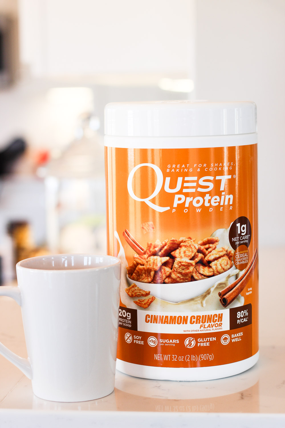 protein panckes with quest protein