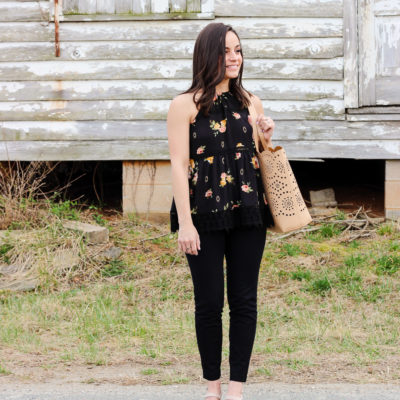 Front Porch Florals & Oh, Hey Girl! Link-Up