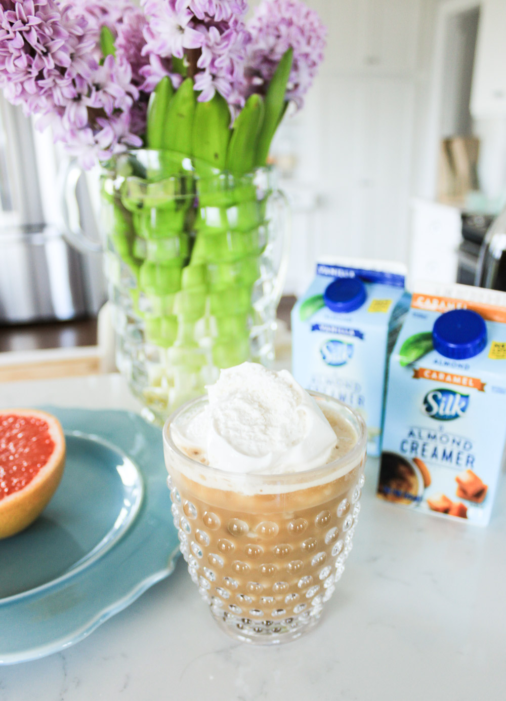 Dairy Free Frappuccino with Silk Almond Creamer