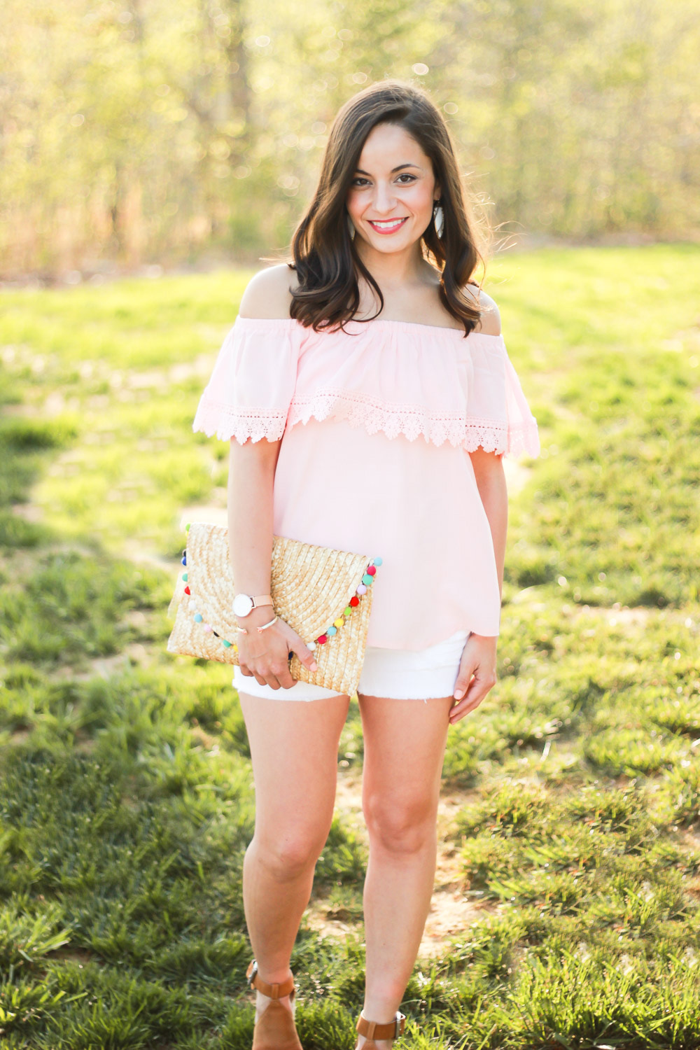 Blush OTS top outfit