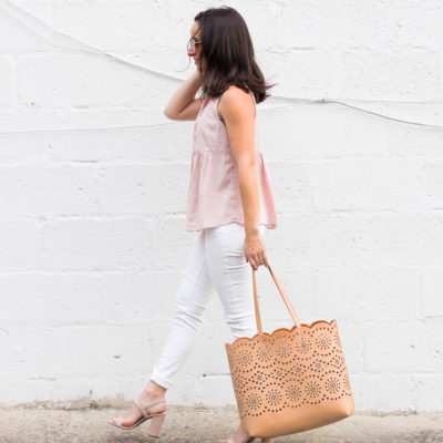 It's Just A Little Blush Crush & Oh, Hey Girl! Link-Up