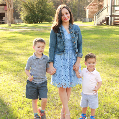 Easter Mommy & Me Blogger Collaboration & Oh, Hey Girl! Link-Up