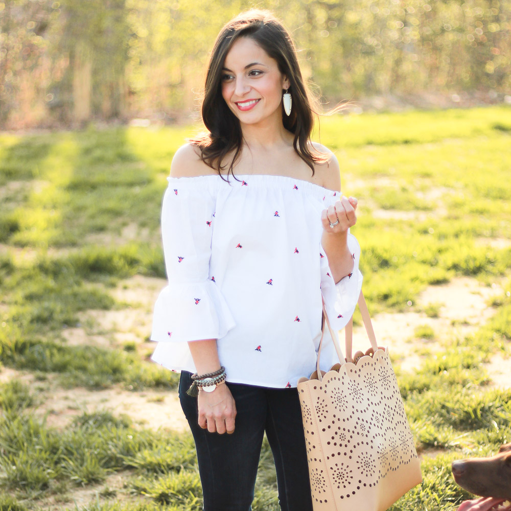 Francescas Off The Shoulder Top