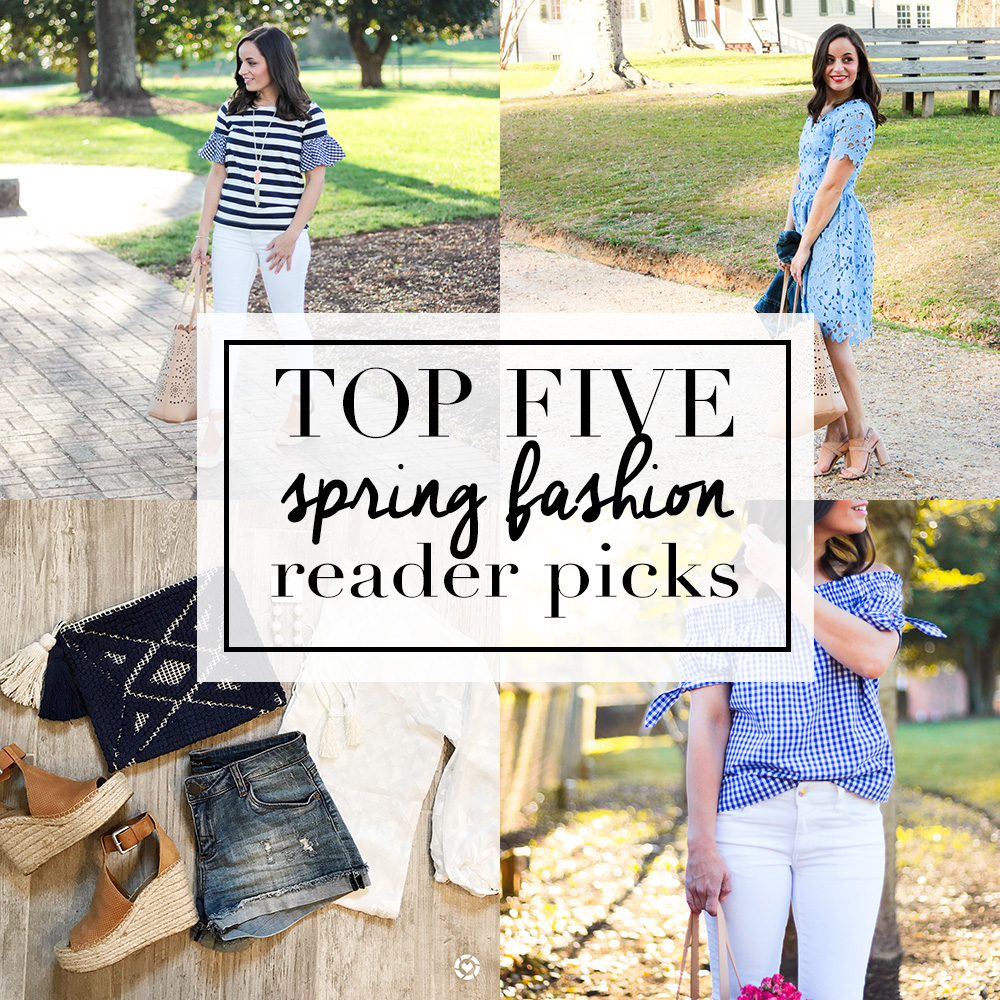 Top Five Spring Fashion Picks