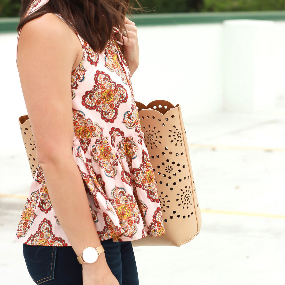 #LoveLoft Peplum Tank Top