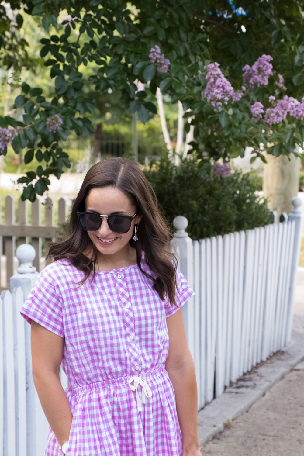 Pumps and Push-Ups: Gingham shirtdress for summer
