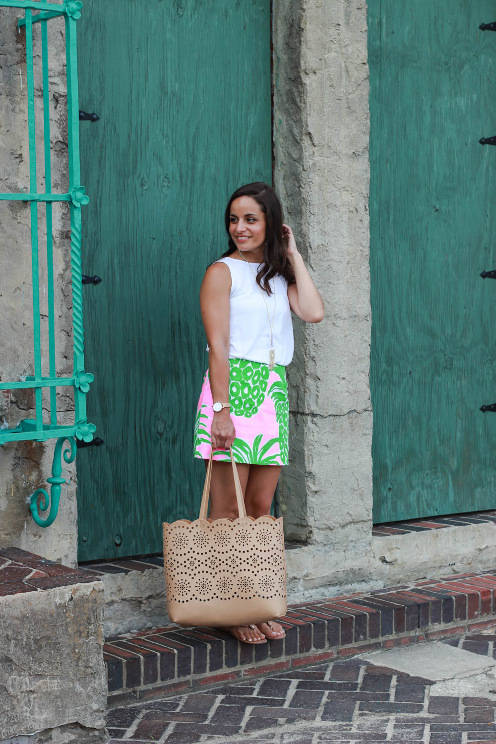 Summer Outfit With Lilly Pulitzer